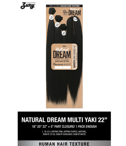ZURY NATURAL DREAM YAKY - Textured Tech