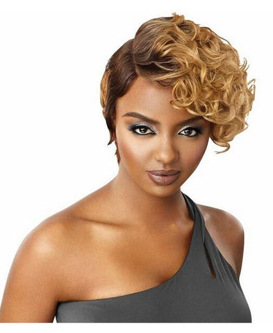 DUBY DIAMOND LACE FRONT WIG - SPIRAL CURL - Textured Tech