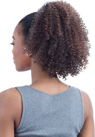 KINKY JERRY CURL DRAWSTRING PONYTAIL - Textured Tech
