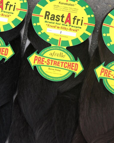 Rast Afri Prestretched Braid Hair - Textured Tech