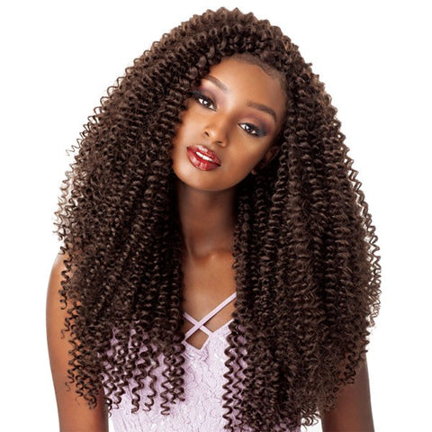 "LULUTRESS CROCHET BRAID ""WATER WAVE"" 18"""