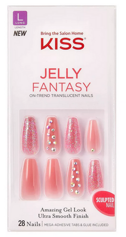 KISS JELLY FANTASY SCULPTED NAIL - Textured Tech