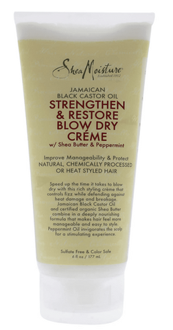 SHEA MOISTURE STRENGTHEN AND RESTORE BLOW DRY CREAM - Textured Tech