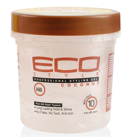 ECO STYLE GEL COCONUT OIL 8oz