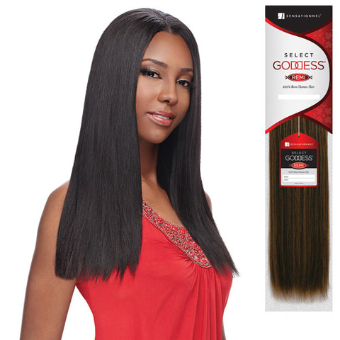 "SELECT GODDESS REMI HUMAN HAIR YAKI 1 14"" - Textured Tech"