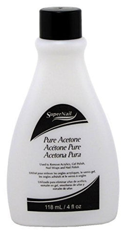 SUPERNAIL PURE ACETONE 4FLOZ - Textured Tech