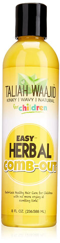 TALIAH WAAJID EASY HERBAL COMB-OUT 8OZ - Textured Tech