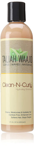 TALIAH WAAJID  CLEAN N CURLY SHAMPOO 8OZ - Textured Tech