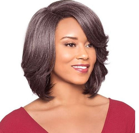 FOXY SILVER WIG COLLECTION LACE WIG SABELLA - Textured Tech
