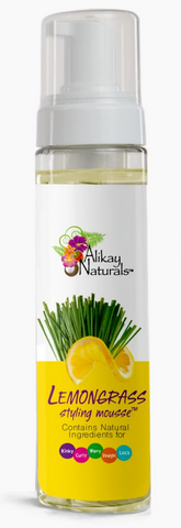 ALIKAY NATURALS LEMONGRASS STYLING MOUSSE 8floz
