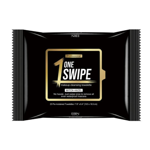 EBIN ONE SWIPE MAKEUP REMOVER WIPES - Textured Tech