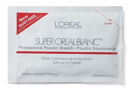 LOREAL SUPER BLANC BLEACH 1OZ PACK - Textured Tech