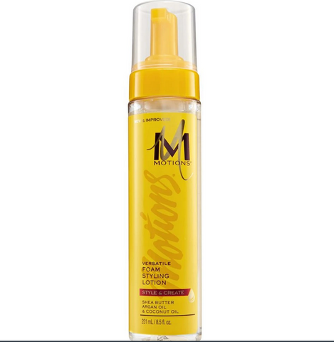 MOTIONS FOAM STYLING LOTION MOUSSE 8.5 OZ - Textured Tech