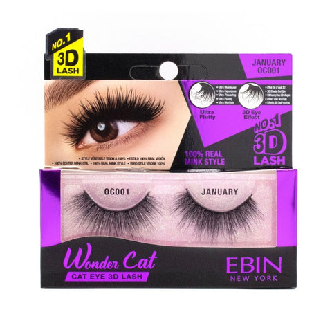 WONDER CAT 3D LASHES (CHOOSE STYLE) - Textured Tech