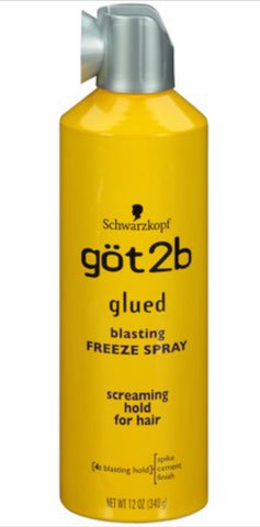 GOT2B GLUED FREEZE SPRAY 12OZ - Textured Tech