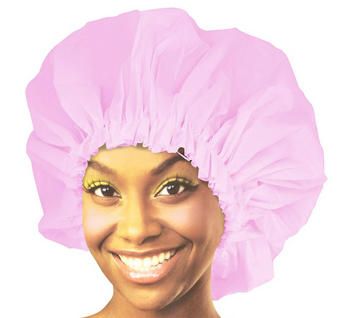 Ms Remi DOUBLE LINED SHOWER CAP (ASSORTED COLORS) - Textured Tech