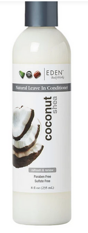 EDEN COCONUT SHEA LEAVE-IN CONDITIONER 8oz - Textured Tech