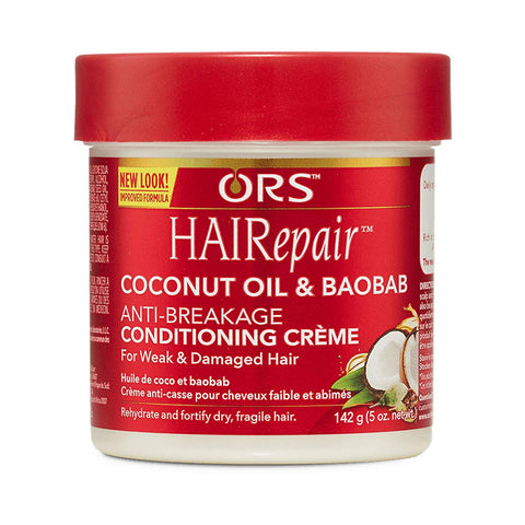 ORS HAIR REPAIR COCONUT OIL & BREAKAGE CONDITIONING CREAM - Textured Tech