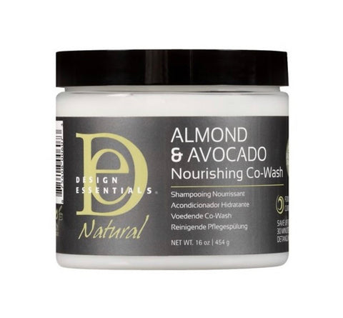 DESIGN ESSENTIALS ALMOND AND AVOCADO NOURISHING CO WASH - Textured Tech