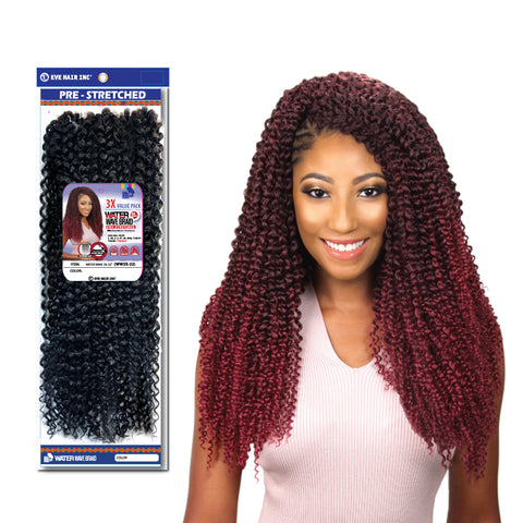 WATER WAVE 3x Eve Hair 22""