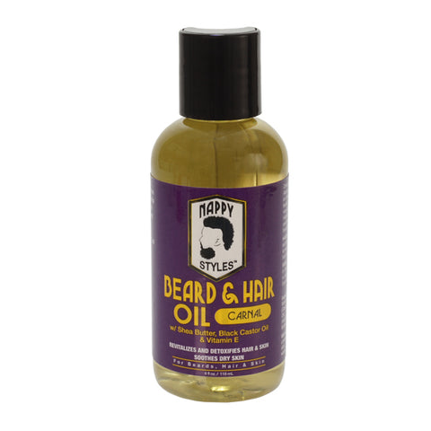 NAPPY STYLES BEARD OIL - Textured Tech