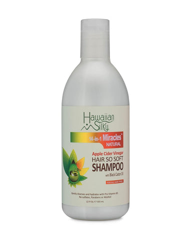 Hawaiian Silky Apple Cider Vinegar Shampoo 12 oz - Textured Tech