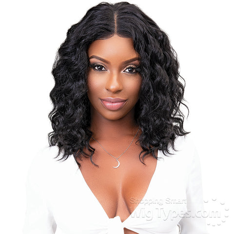 JANET COLLECTION REMY DEEP PART LACE WIG NATURAL DEEP - Textured Tech