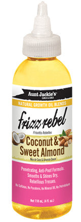 AUNT JACKIE'S COCONUT OIL & SWEET ALMOND OIL 4OZ - Textured Tech