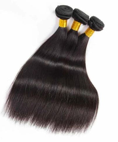 Straight Human Hair Bundle (one 3.5 oz bundle) - Textured Tech