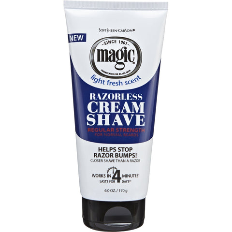 MAGIC SHAVE TUBE 6OZ REG - Textured Tech