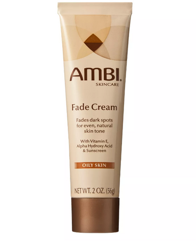 AMBI FADE CREAM OILY SKIN - 2 OZ - Textured Tech