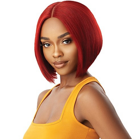 "THE DAILY WIG HUMAN HAIR BUMPED BOB 10"" - Textured Tech"