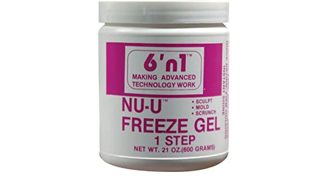 6' N 1 NU-U FREEZE GEL 1 STEP - Textured Tech