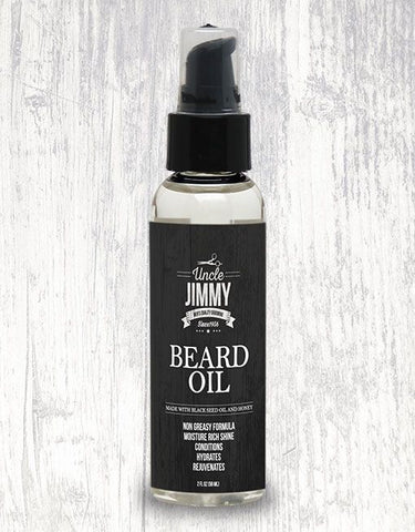 UNCLE JIMMY BEARD OIL 2OZ - Textured Tech