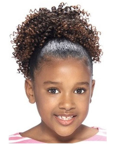 "EVE HAIR MY ANGEL KIDS DRAWSTRING PONYTAIL 5"" - Textured Tech"