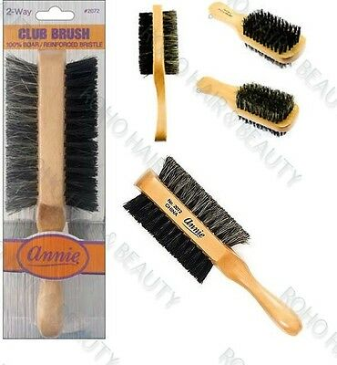 ANNIE 2 WAY CLUB BRUSH #2072 - Textured Tech