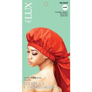 LUX BY QFITT XL BRAID SILKY SATIN DAY & NIGHT CAP - Textured Tech