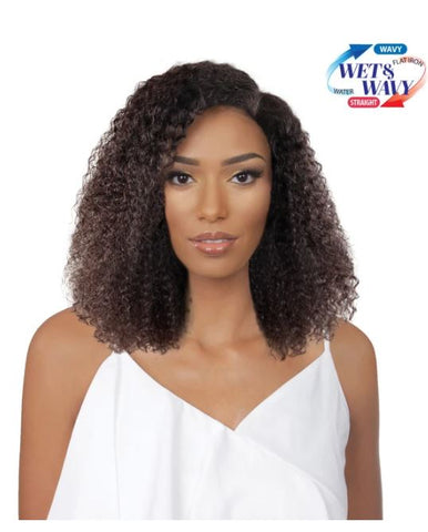 360 LACE FRONT WIG TRU REMY WATER WAVE - TINA NATURAL - Textured Tech