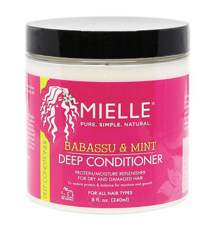 Mielle Babassu Deep Conditioner 8oz - Textured Tech