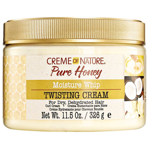CREME OF NATURE PURE HONEY MOISTURE WHIP TWISTING CREAM - Textured Tech