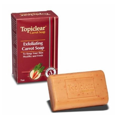 TOPICLEAR CARROT SOAP - Textured Tech