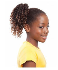 "EVE HAIR MY ANGEL KIDS DRAWSTRING PONYTAIL 6"" - Textured Tech"