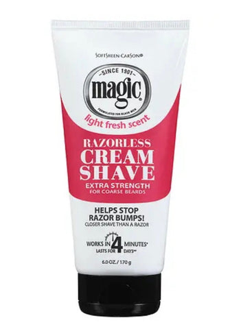 MAGIC SHAVE TUBE EXTRA STRENGTH 6OZ REG - Textured Tech