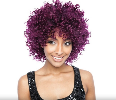 "BRAZILIAN OMBRE SYNTHETIC BLEND ""TONI CURL"" 4PC - Textured Tech"