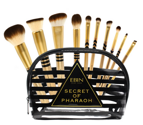 EBIN SECRET OF THE PHARAOH MAKEUP BRUSHES - Textured Tech