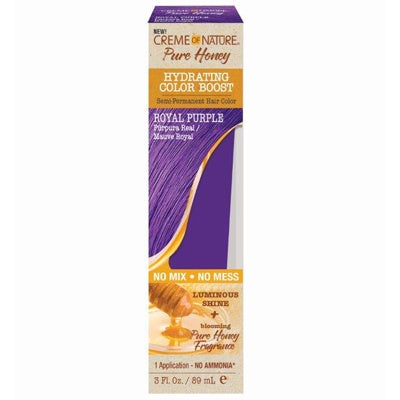 CREME OF NATURE PURE HONEY HYDRATING COLOR BOOST - Textured Tech
