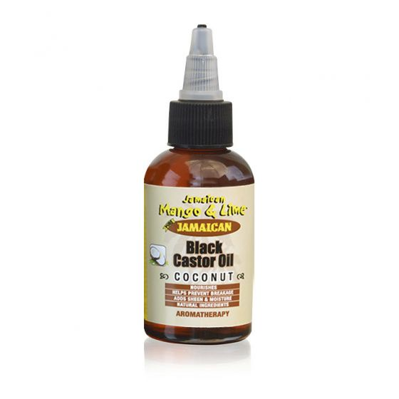 JAMAICAN BLACK CASTOR OIL 2OZ COCONUT