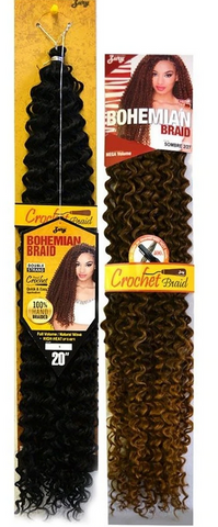 Zury Bohemian Braid Crochet - Textured Tech