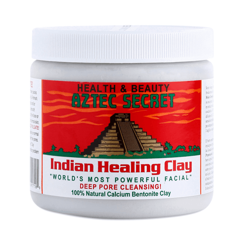 INDIAN AZTEC HEALING CLAY MASK 1  LB - Textured Tech