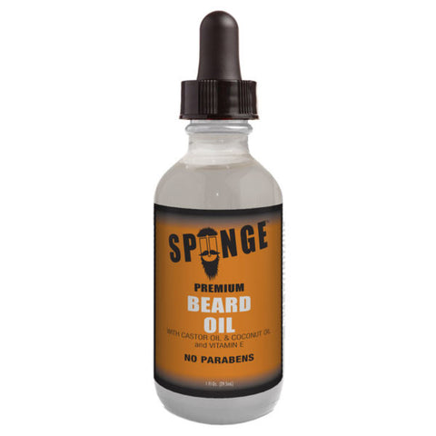 SPUNGE BEARD OIL 1OZ